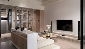 Interior Designs For Apartment Living Rooms Multi Level Contemporary Apartment