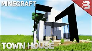 minecraft modern modern concept home town house build review