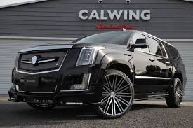 cadillac escalade custom cadillac escalade gets calwing body kit from japan and forgiato