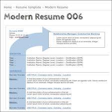 Best Modern Resume