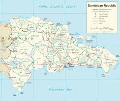 dominican republic road map