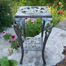 Oakland Living Mississippi Cast Aluminum Oakland Living Cast Iron Hummingbird Table Plant Stand 5161 Ap