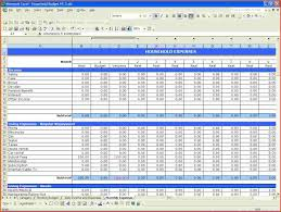 Monthly Spreadsheets Household Budgets by Excel Spreadsheet For Budget Household Wolfskinmall