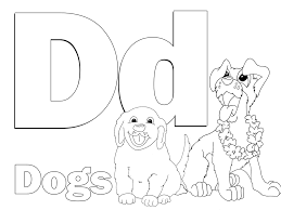 download coloring pages letter d coloring pages letter d