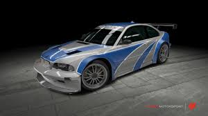 Bmw M3 Gtr - bmw m3 gtr need for speed most wanted by outcastone on deviantart