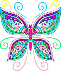 colorful butterfly vector stock vector illustration of corel