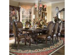 Michael Amini Dining Room Furniture michael amini essex manor 9 pc dining set olinde u0027s furniture