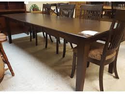 t03 custom dining table vintage oak