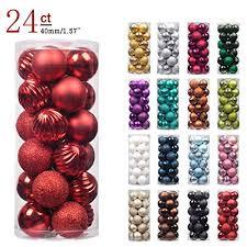 ki store 24ct ornaments shatterproof