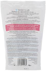 si e bain westlab himalayan cleansing salt stand up pouch 1kg amazon co uk