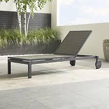Outdoor Chaise Lounges Outdoor Chaise Lounges Crate And Barrel