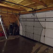 Basement Batting Cage by Garage Soft Toss Net Burbank Sport Nets