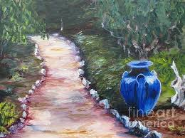 The Blue Vase Patricia Kanzler Artwork For Sale Eureka Ca United States