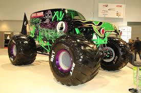 power wheels grave digger monster truck 2015 sema show day 2 south hall lower level