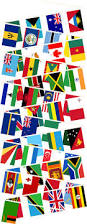Flags Of Nations Buy Commonwealth Bunting Multi Nations Buntings Greens Of