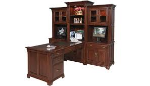 Executive Office Furniture Suites Custom Amish Home Office Furniture Amish Furniture Gallery
