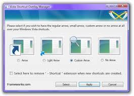 supprimer icone bureau supprimer la flèche sur les icônes de raccourci sous windows 7