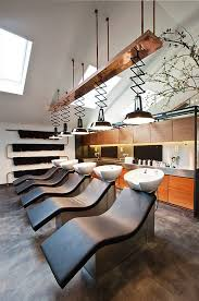 mogeen hair salon amsterdam store design basin area salon