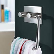 kes self adhesive sus 304 stainless steel toilet paper holder