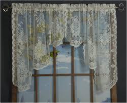 Lace Curtains And Valances Fiona Scottish Lace Curtain Panel And Valances Shopbedding Com