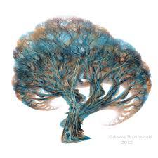 fractal tree 20 turquoise by alvenka on deviantart