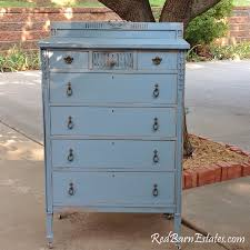 french blue painted dresser the shabby chic furniture antique
