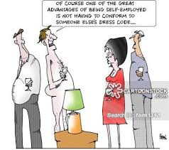 dress code cartoons and comics funny pictures from cartoonstock
