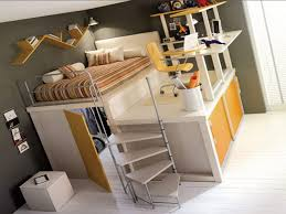 modern teenage loft beds with desk to change your for bedroom