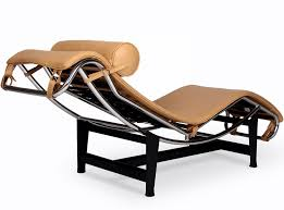 Barcelona Chaise Lounge Le Corbusier Lc4 Chaise Longue Platinum Replica