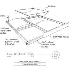Suspended Drywall Ceiling by Usg Design Studio Hanger Wire Download Details