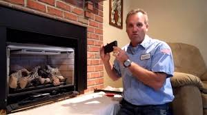 robert martin gas fireplace cleaning step 4 youtube