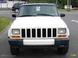 2000 jeep cherokee black 2000 stone white jeep cherokee sport 4x4 16029824 photo 3