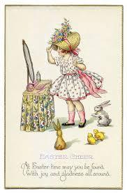 vintage cards 62 best easter post card bonnet parade images on