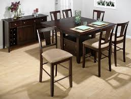 Tall Dining Room Sets Dining Room Counter Height Dining Sets With Leaf Butterfly Leaf