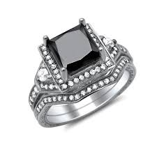 black diamond bridal set bridal sets archives amazing jewelry worldamazing jewelry world