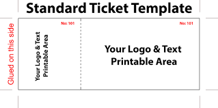 sports ticket template free virtren com