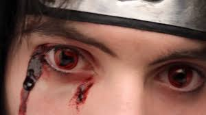 prescription contact lenses halloween magekyu contact lenses sharingan itachi youtube