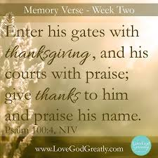thanksgiving bible message wearing your