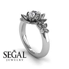 lotus flower engagement ring the lotus cocktail ring diamond ring kaitlyn no 3 segal jewelry