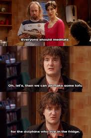 Black Books Meme - 21 pieces of extremely questionable life advice from black books