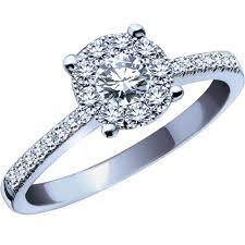 ben moss engagement sets endless 0 35 carat tw 14k white gold engagement ring this