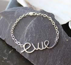 personalized children s jewelry personalised bas name bracelet walshe jewellery baby name