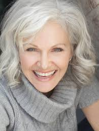 hairstyles for thick grey wavy hair 60 gorgeous gray hair styles mid length hair medium hairstyle