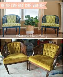 Refinishing Cane Back Chairs How To Paint A Chair With Regular Paint Whats Ur Home Story