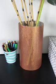 Copper Flower Vase Diy Sheet Metal Vase Pretty Handy