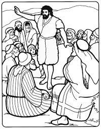 john baptist coloring sermons4kids