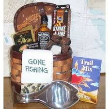 fishing gift basket fishing gift basket i m putting together 2 gift baskets for our