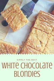 Best 25 White Chocolate Brownies Ideas On White
