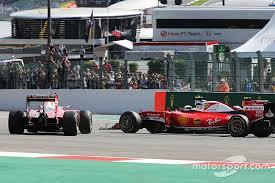 apologises to raikkonen for turn 1 crash at spa