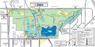 Green Lake Wisconsin Map by Map Schmeeckle Reserve Uwsp